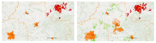 Actualisation de la carte régionale FTTH