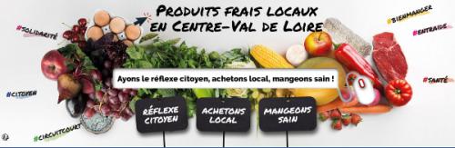 Carte des produits et saveurs du terroir en Centre-Val de Loire